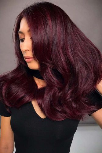 Hair Color - Dark Red picture3