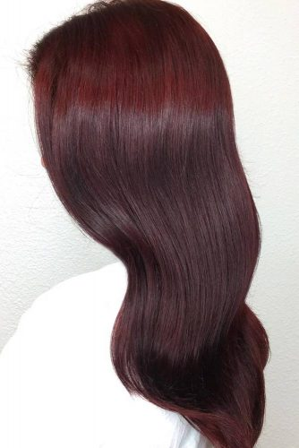 Hair Color - Dark Red picture1