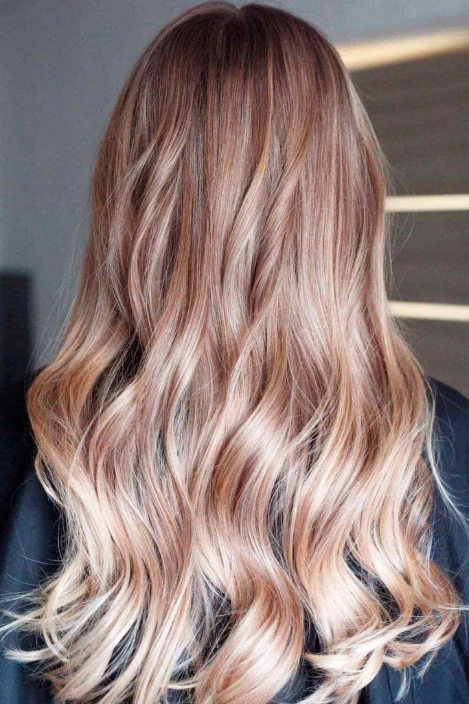 Sandy Beige Hair Color