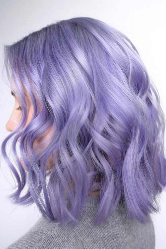 Hair Color - Lavender Violet #purplehair #violethair