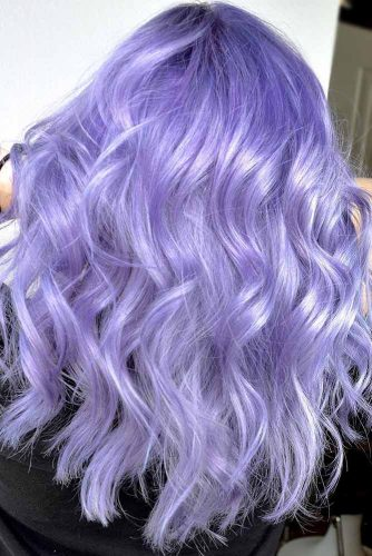 Hair Color - Lavender Balayage #purplehair #balayage