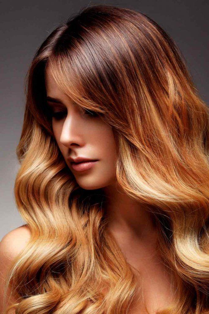 Dark Golden Brown Hair