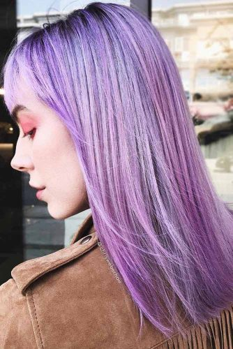 Hair Color - Lavender Purple #purplehair #violethair