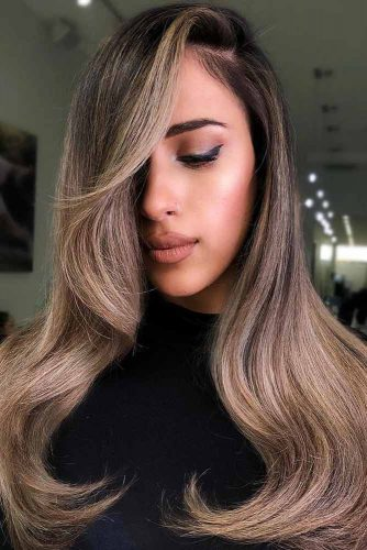 Hair Color - Sandy Beige Balayage #brunette #balayage