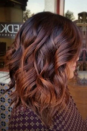 Coffee Brown Ombre Hair