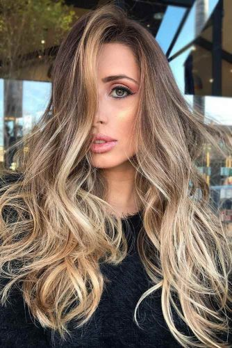 Light Brown with Wild Blonde