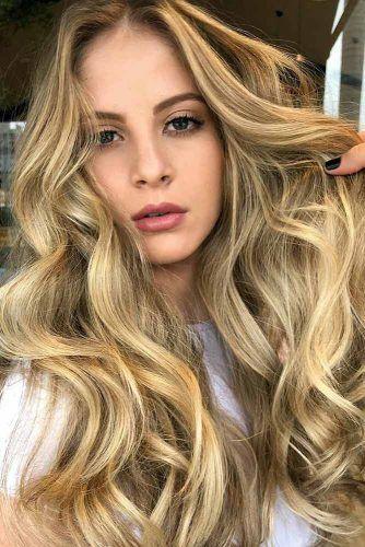 Buttery Blonde Hues #balayage