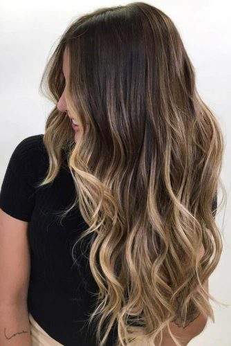 Flamboyage Technique Brunette #ombre #brunette