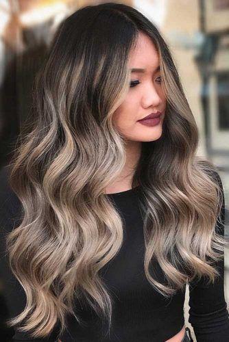 Brunette To Blonde Fade #balayage