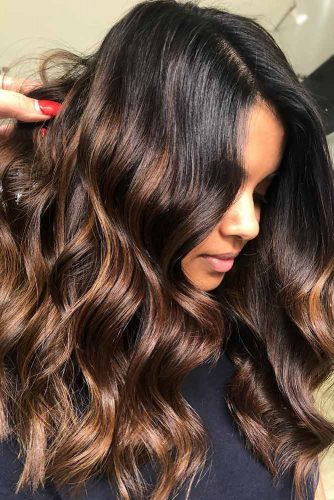 60 Balayage Hair Ideas In Brown To Caramel Tone