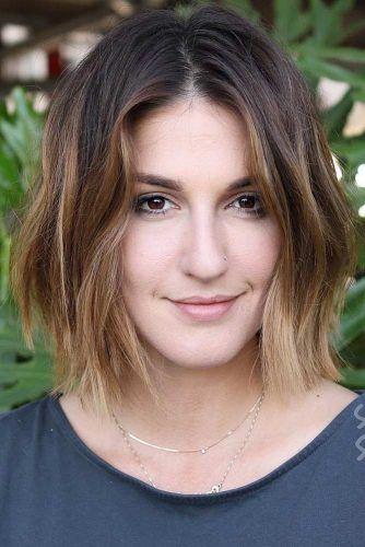 Balayage Short Dark Hair #balayage