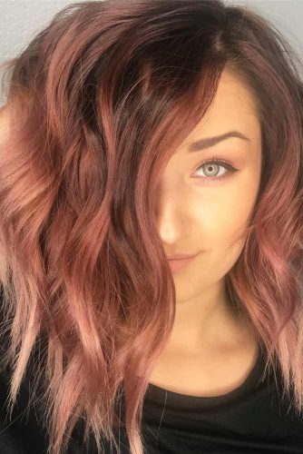 Indian Red and Brown Hair Color