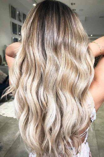 Some Balayage Tips Blonde #balayage