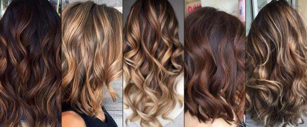 23 Top Brown to Caramel Colors of Balayage Hair