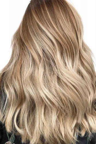 Latte Brown #balayage #brunette #blondehair