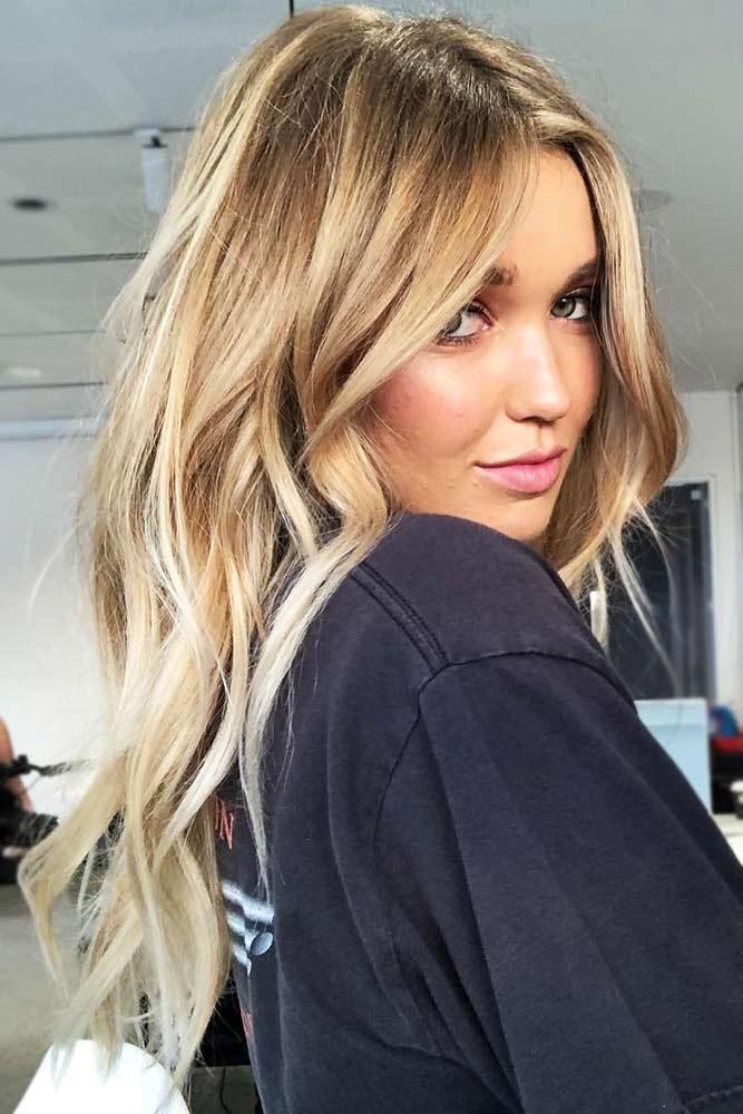 Caramel Toned Layers #balayage #brunette #blondehair