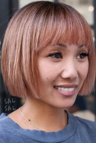 Balayage Short Straight Hair #balayage