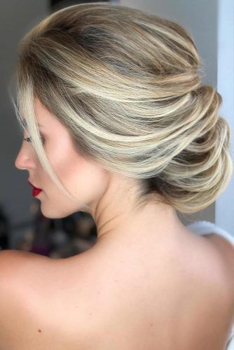 Balayage For Wedding Hairstyles #blondehair #updo