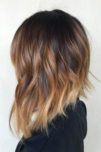 Sun-Kissed Sexy Balayage Hairstyles