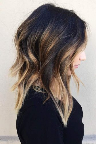 Caramelicious Color Hairstyles for Medium Hair