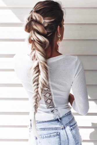 Different Types of Braided Hairstyles for Long Straight Hair picture 2