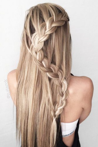 Creative Hairstyles with Braids for Long Hair picture 1