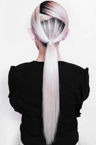 Cool Low Ponytails Hairstyle #ponytail #longhair