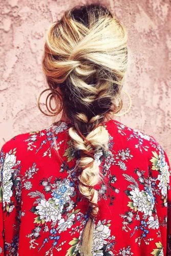 Creative Hairstyles With French Braids For Long Hair #braids #longhair
