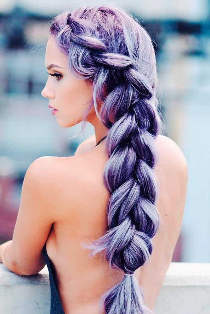 Purple Dutch Braids Mixes picture2