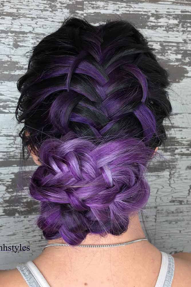 Try to Tied Your Purple Hair picture2