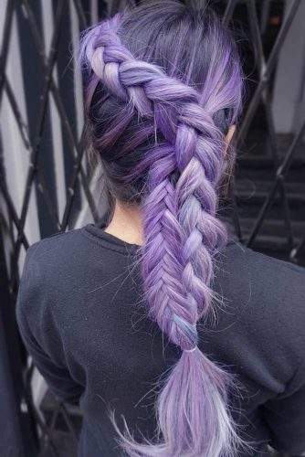 Braided Purple Ombre picture1