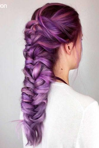 Try to Tied Your Purple Hair picture3
