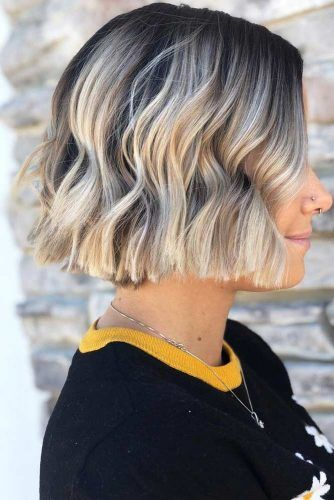 Attractive Short Hairstyles #bluntbob #bobhaircut #haircuts