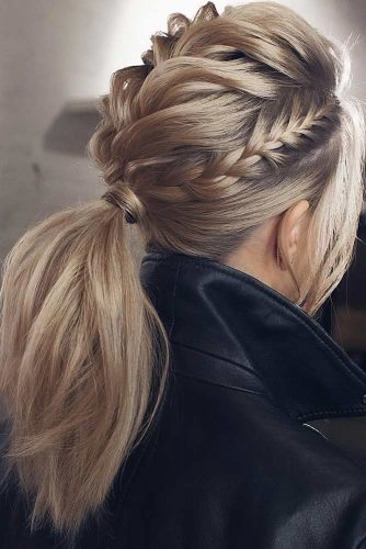 Ponytail Hairstyles for Valentines Day picture1