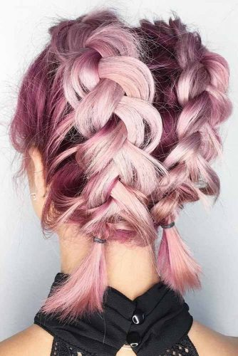 Romantic Short Braided Hairstyles picture2