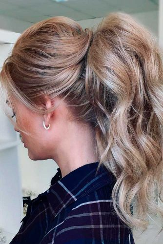 Volume Ponytail Hairstyles You Should Take on Your Mind picture 1