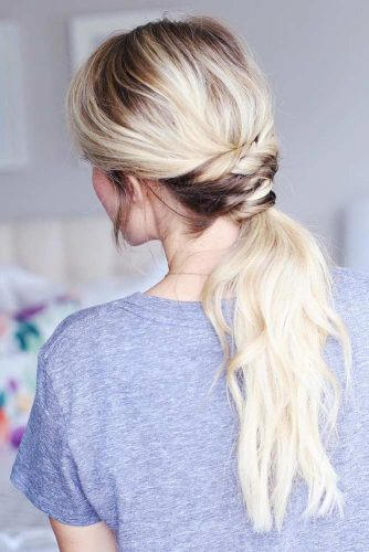Lovely Low Ponytail Hairstyles to Try picture 3