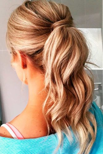 Curly Ponytail Hairstyles to Try picture 1