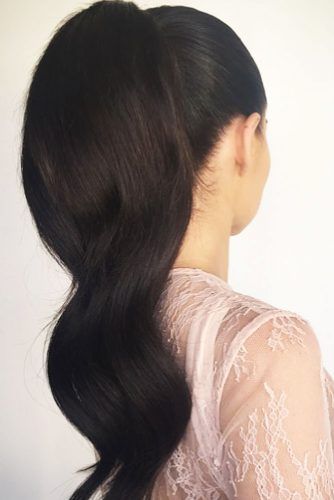 Elegant Ponytails for Your Special Day picture 2