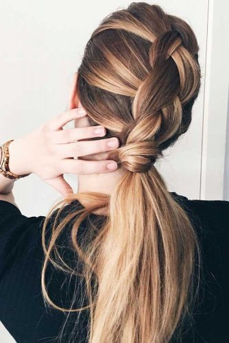 Add Braids to Your Ponytail to Amaze Everyone picture 2
