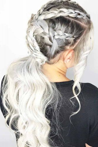 Romantic Ponytail Hairstyles for Going Out picture 1