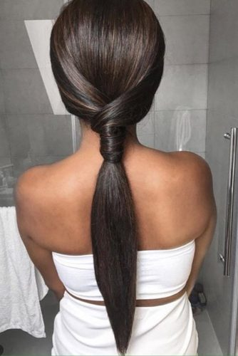 Fantastic Straight Ponytails picture 1