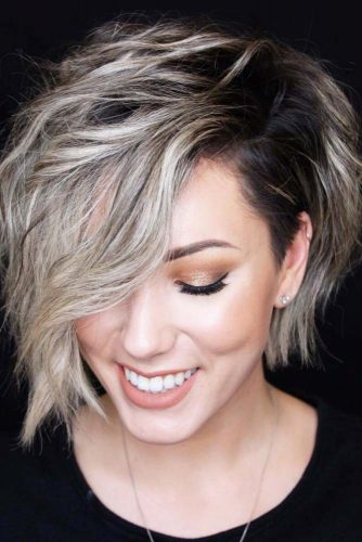 Wavy Bob Hairstyles With Highlights