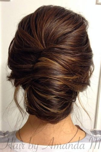 Undone Updos for Long Hair