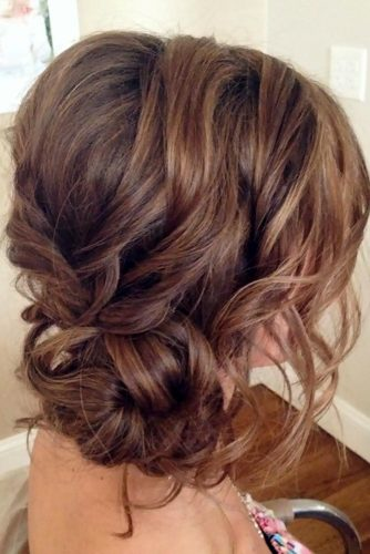 Sexy Side Sweep Updos for Long Hair