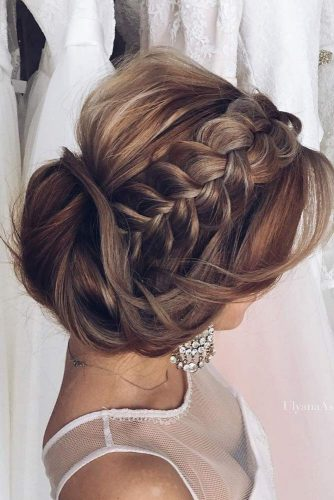 Heavenly Halo Updos for Long Hair