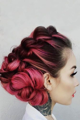 Bright Colorful Updos picture3