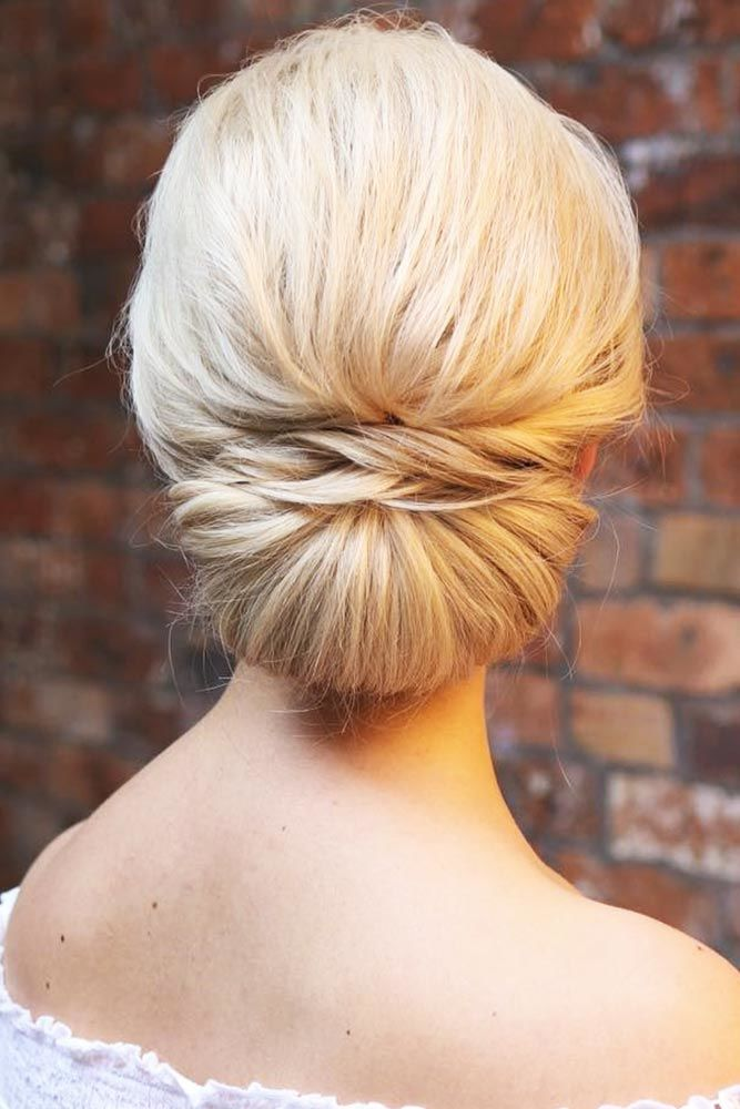 Polished French Twist Updo