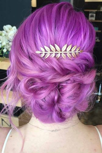 Bright Colorful Updos picture1