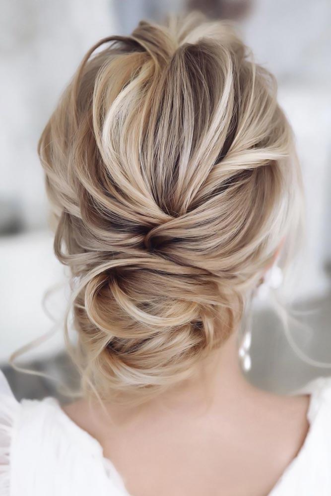 Chignon Styles Blonde #updo #longhair